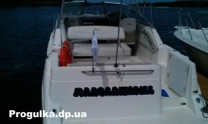прогулки на моторных яхтах в днепропетровске  2 c